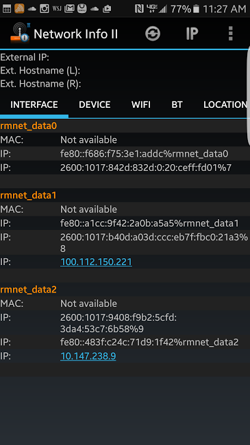 Mobile Web Dev: Access Localhost on Android from OSX